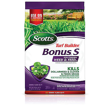 Scotts Turf Builder Bonus S Southern Weed & Feed Florida, 41.38 lbs.