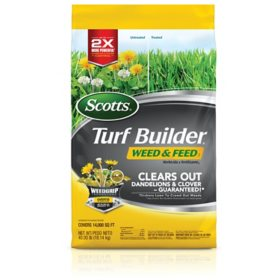 Scotts Turf Builder Weed & Feed, 40 lbs.