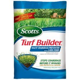 Scotts Turf Builder with Halts Crabgrass Preventer (covers 12K sq. ft.)
