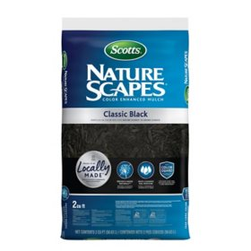 Scotts Nature Scapes Color Enhanced Mulch - Classic Black