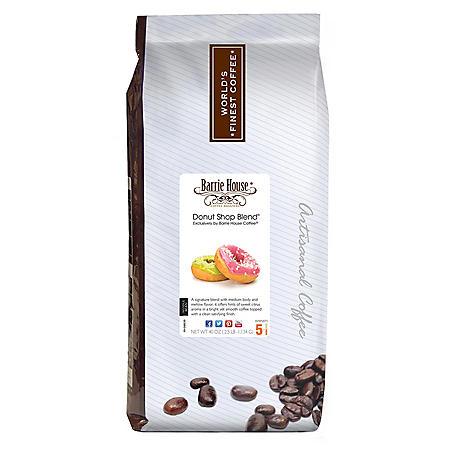 Barrie House Whole Bean Coffee, Donut Shop ( 40 oz.)