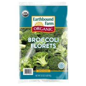 Earthbound Farm Organic Broccoli Florets (2 lbs.)