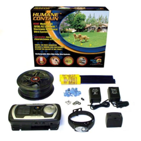 High Tech Pet Humane Contain Multi-Function Rechargeable Electric Dog Fence