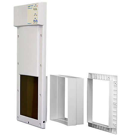 Smarty Pets Automatic Pet Door Value Kit, Large Wall Mount