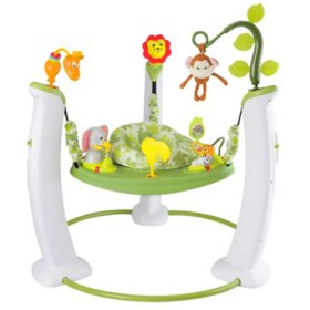 Evenflo Exersaucer Jumping Activity Center, Safari Friends