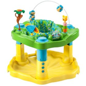 Evenflo Exersaucer Bouncing Activity Saucer, Zoo Friends