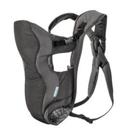 Evenflo Breathable Soft Carrier, Gray Chevron