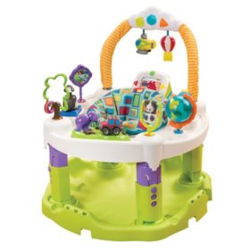 Evenflo Exersaucer Triple Fun Bouncing Activity Saucer, World Explorer