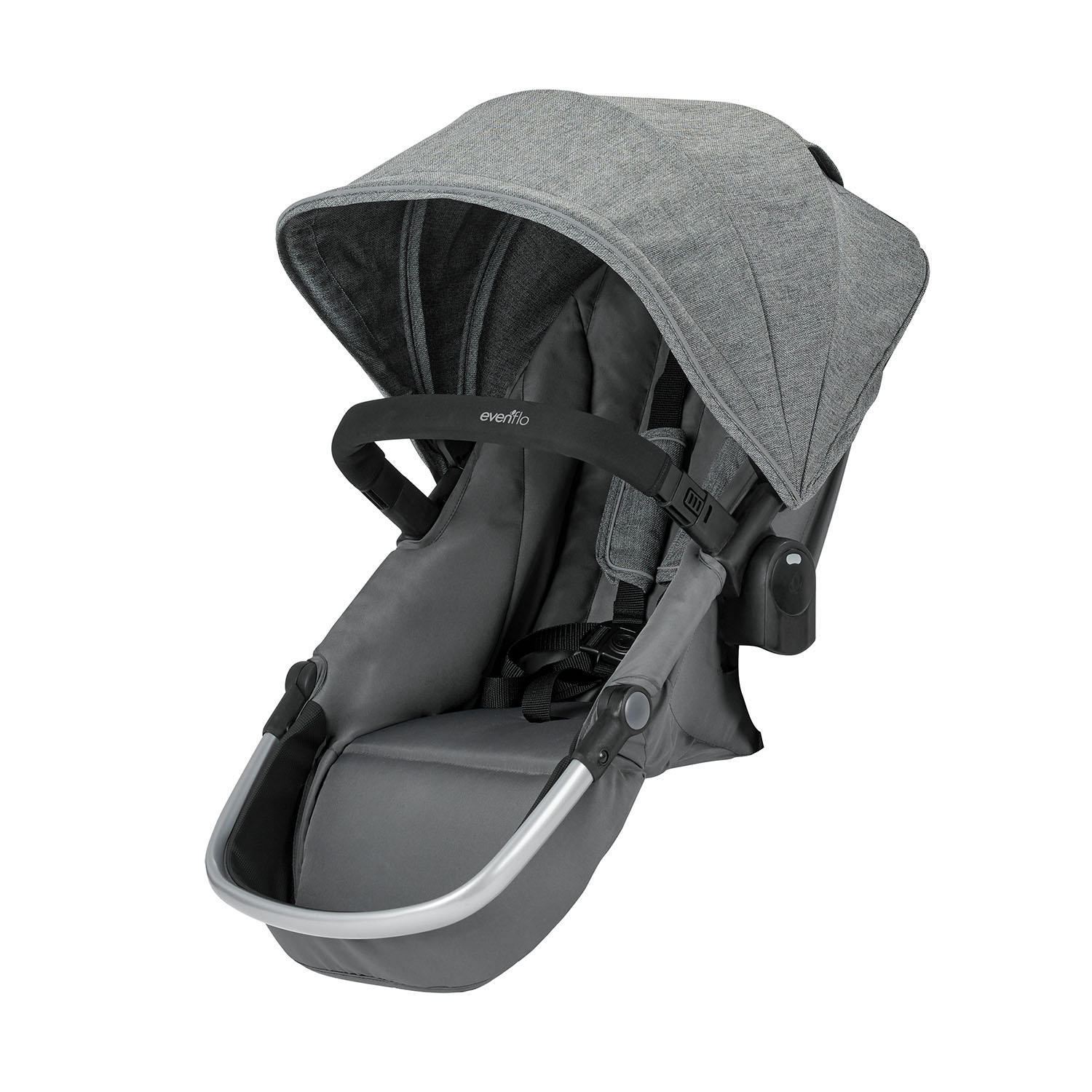 Evenflo Pivot Xpand Stroller Second Seat, Percheron (Gray ...