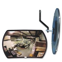 """See-All Convex MirrorSee All - 160 degree Convex Security Mirror - 18""""W x 12""""H"""