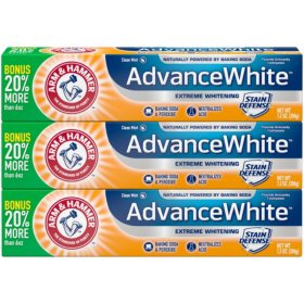 Arm & Hammer Advance White Extreme Whitening Toothpaste (7.2 oz., 3 pk.)