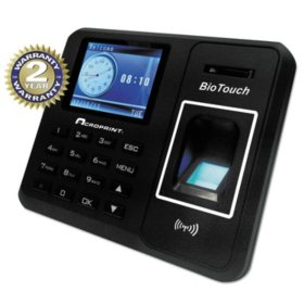 Acroprint BioTouch Time Clock, Hours/Minutes/Seconds