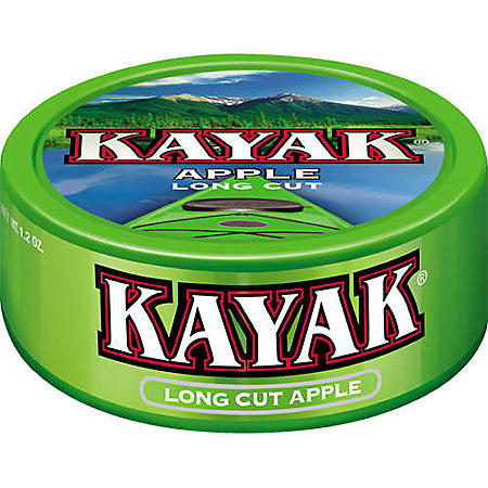 Kayak Long Cut Apple (1.2 oz. can, 5 ct.)