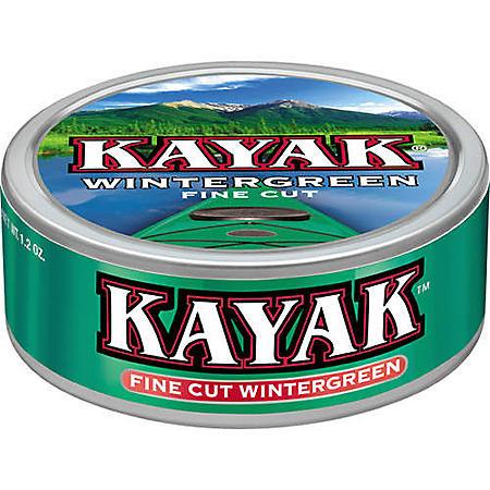 Kayak Long Cut Wintergreen (10 cans)