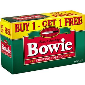 Bowie Chewing Tobacco - 3 oz.- 12 pk.