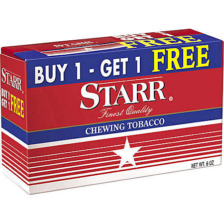 Starr Chewing Tobacco (12 pk ) - Sam's Club
