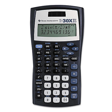 Texas InstrumentsTI-30X IIS Scientific Calculator, 10-Digit LCD