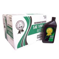 Certified SAE 10W-40 Motor Oil - 1 qt. bottles - 12 pk.