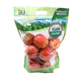 Organic Gala Apples (5 lbs.)
