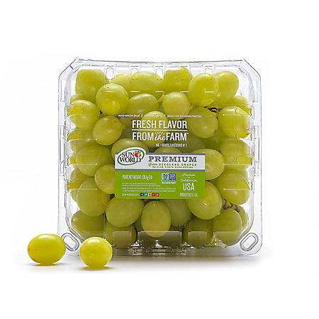 Green Seedless Grapes (3 lbs.)