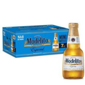 Modelo Especial Modelito Mexican Lager Beer (7 fl. oz. bottle, 24 pk.)