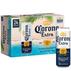 Corona Extra Mexican Lager Beer  (12 fl. oz. can, 24 pk.)