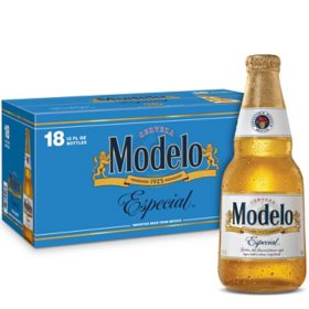 Modelo Especial Mexican Lager Beer (12 fl. oz. bottle, 18 pk.)