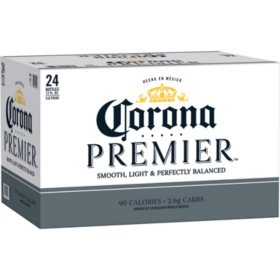 Corona Premier Mexican Lager Light Beer (12 fl. oz. bottle, 24 pk.)