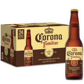 Corona Familiar Mexican Lager Beer (12 fl. oz. bottle, 24 pk.)
