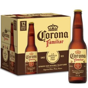 Corona Familiar Mexican Lager Beer (12 fl. oz. bottle, 12 pk.)