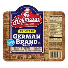 Hoffman Skinless German Frank (42 oz., 24 links)