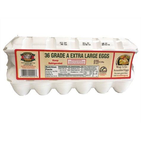 Sauder's White Extra Large Eggs - 18 pk. - 2 ct.