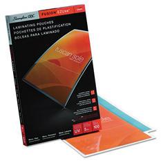 Swingline GBC - Fusion EZUse Premium Laminating Pouches, 5 mil, 11 1/2 x 17 1/2 -  100/Box