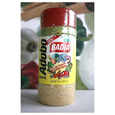 Badia Adobo with Pepper - 15 oz.