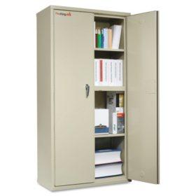 "FireKing 36"" Wide Storage Cabinet, Parchment"