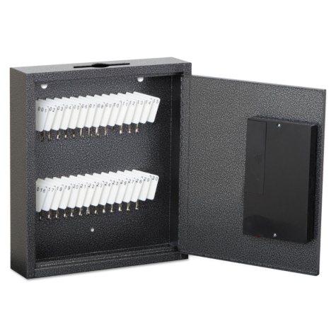FireKing Hercules Steel 30-Key E-Lock Cabinet, Silver Vein