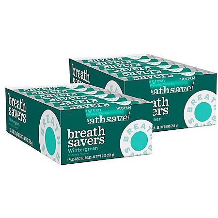 Breath Savers Wintergreen Mints (12 ct., 24 pks.)