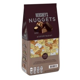 HERSHEY'S NUGGETS Assorted Chocolate Candy (52 oz. bag, 145 pc.)