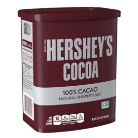 Hershey's Natural Unsweetened Cocoa, Chocolate (23 oz.)