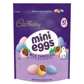 Cadbury Mini Egg Easter Milk Chocolate Candy (42 oz.)