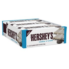 Hershey's, Cookies 'n' Creme Candy, King Size (2.6 Oz. Bar, 18 ct.)
