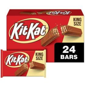 Kit Kat Wafer Bars King Size (3 oz., 24 ct.)
