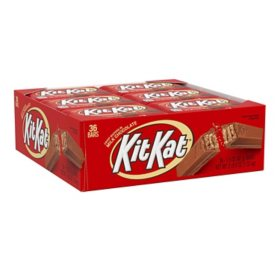 KIT KAT Milk Chocolate Wafer Candy (1.5 oz. bars, 36 ct.)