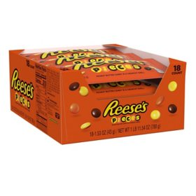 Reese's Pieces Candy (1.53 oz., 18 pks.)