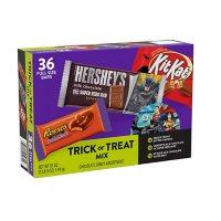 REESE'S, HERSHEY'S and KIT KAT Trick or Treat Mix Milk Chocolate Assortment Candy, Halloween, Bulk Variety Box (51 oz., 36 ct.)