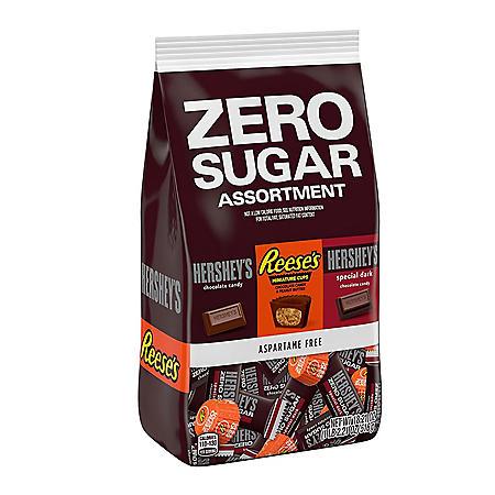 Hershey Zero Sugar Chocolate Candy Assortment Bag (18.21 oz.)