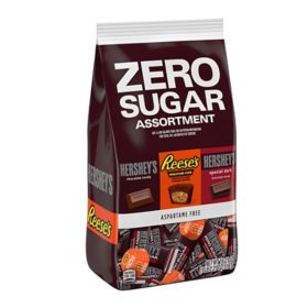 Hershey Zero Sugar Chocolate Candy Assortment Bag (18.21 oz.)