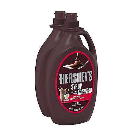 Hershey's Chocolate Syrup (48 oz., 2 ct.)