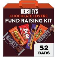Hershey Fundraising Kit Assorted Milk Chocolate Candy Bars (52 ct.)