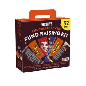 Hershey's Chocolate Candy Bar Variety Pack, Fundraising Kit (52 ct.)